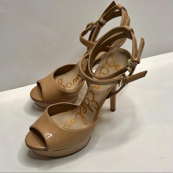 0f65e90e0f76ca Sam Edelman tan patent leather heels size 9 1 2. M 5c3f843ec2e9fe3470b13cd2